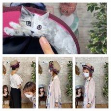 画像12: LOOK UP!(猫)ベージュ (12)