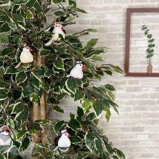 画像8: 3WAYバッグチャーム/文鳥(シルバー文鳥) (8)