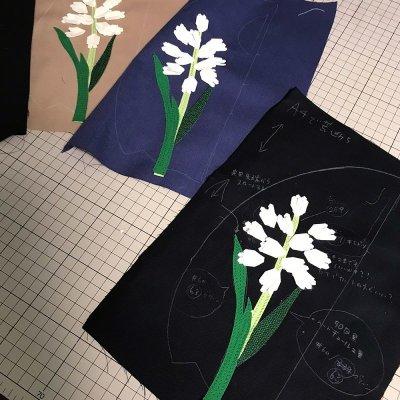 画像2: 花束〜ん(ブラック)