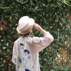 画像10: 春風葉っぱ帽子/桜 (10)