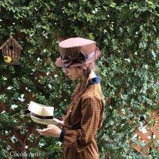 画像12: 木枯らし葉っぱ帽子(茶) (12)
