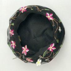 画像10: お花刺繍すみません(黒) (10)
