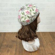 画像4: お花刺繍すみません(白) (4)