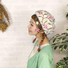 画像11: お花刺繍すみません(白) (11)
