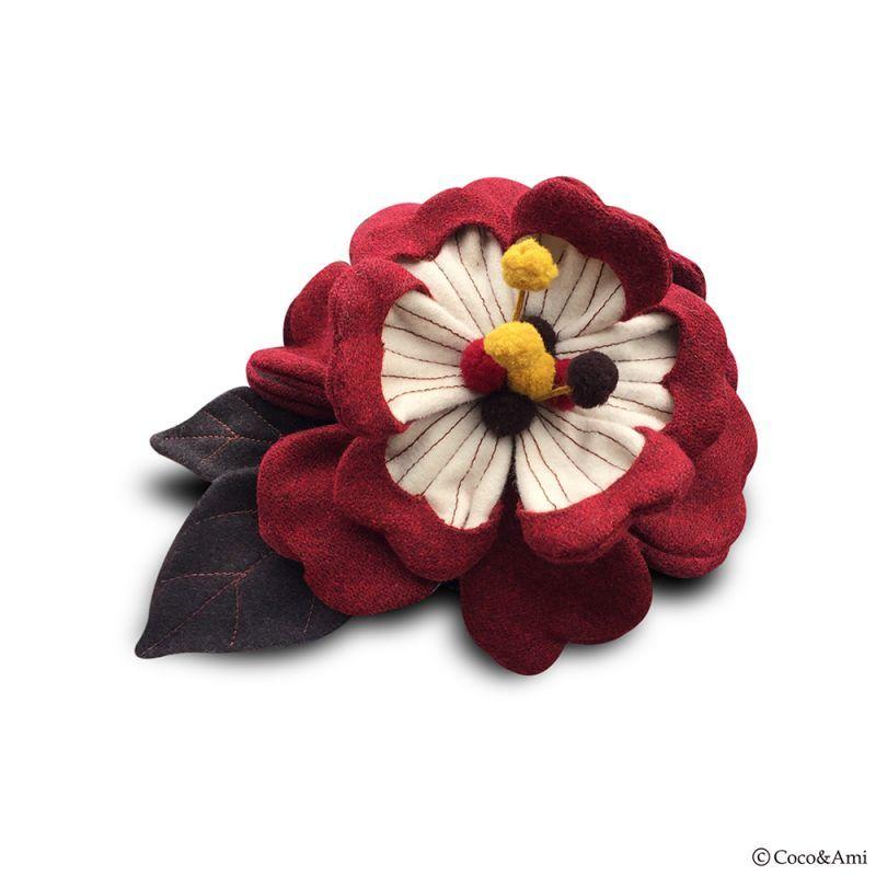画像1: 咲かせ!花クテルハット(赤) (1)