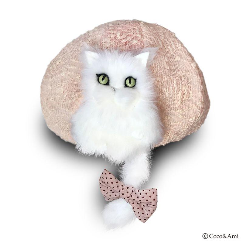 画像1: 猫かぶらニャいと!ハギベレー(ミックスピンク) (1)